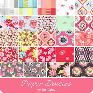 Paper Daisies - 5 inch stacker - 42 pieces (on sale)