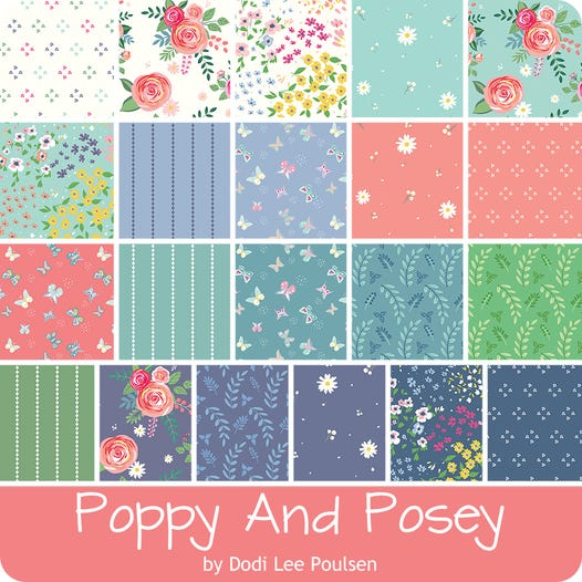Poppy & Posey 5 inch stacker – 42 pieces