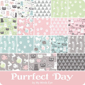 Purrfect Day 5 inch stacker – 42 pieces