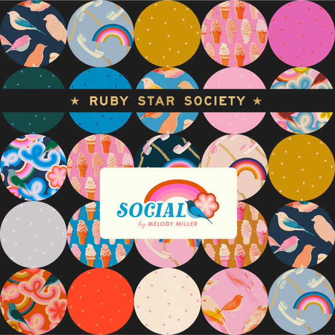 Moda Ruby Star Society Social & Spark Junior Jelly Roll