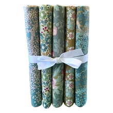 Load image into Gallery viewer, Woodland - Fat Quarter Bundle - Sage - 5 pieces