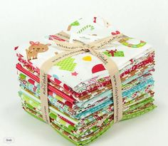 Santa Express Fat Quarter Bundle – 21 pieces