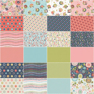 Sew Retro Fat Quarter Bundle – 24 pieces