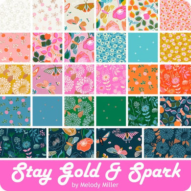 Stay Gold & Spark Layer Cake from Ruby Star Society