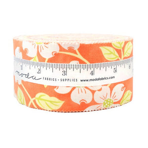 Strawberries and Rhubarb 2.5 inch Jelly Roll - 40 pieces