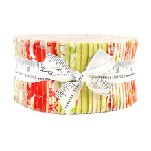 Load image into Gallery viewer, Strawberries and Rhubarb 2.5 inch Jelly Roll - 40 pieces