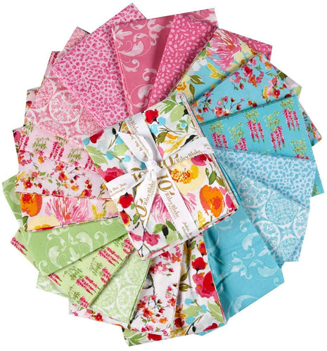 Sweet Melody Fat Quarter Bundle – 18 pieces