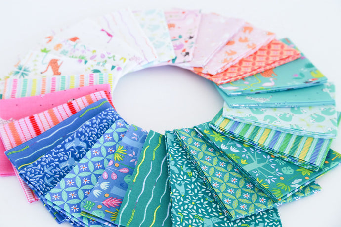 Under the Canopy Fat Quarter Bundle – 24 pieces