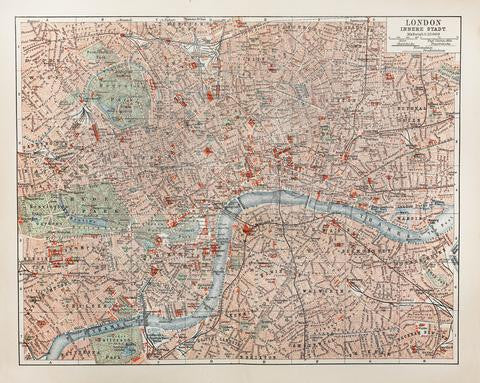 Looking back at Victorian London: Charles Booth's poverty map