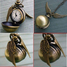 Steampunk Pocket Watch Angel Wings