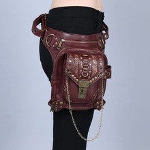 Steampunk Metal Ornaments Waist Pack