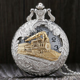 Steampunk Pocket Watch Train