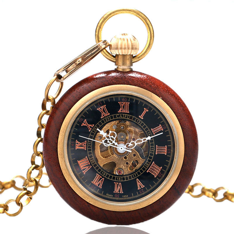 Steampunk Pocket Watch Roman Numerals