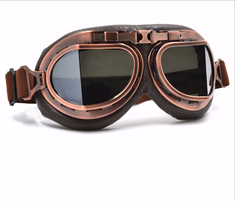 Steampunk Goggles Sport for Motorcycle Goodman