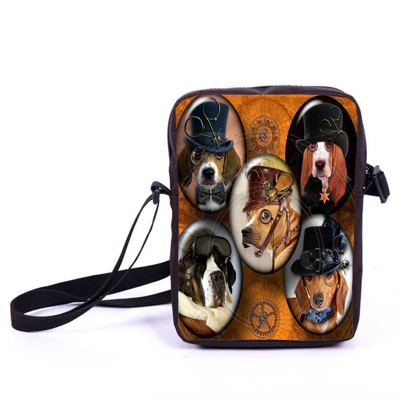 Steampunk Five Dogs Bag