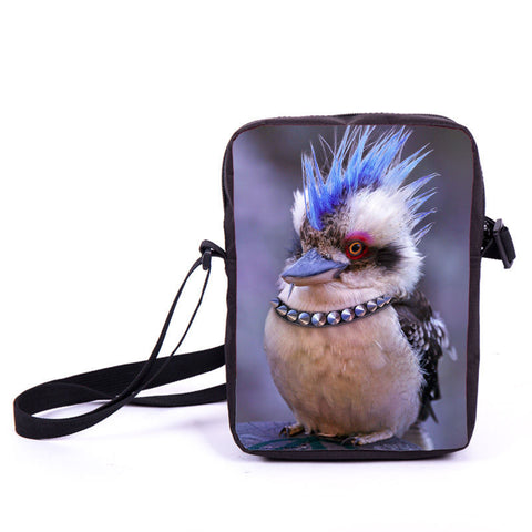Steampunk Blue Duck Mini Bag