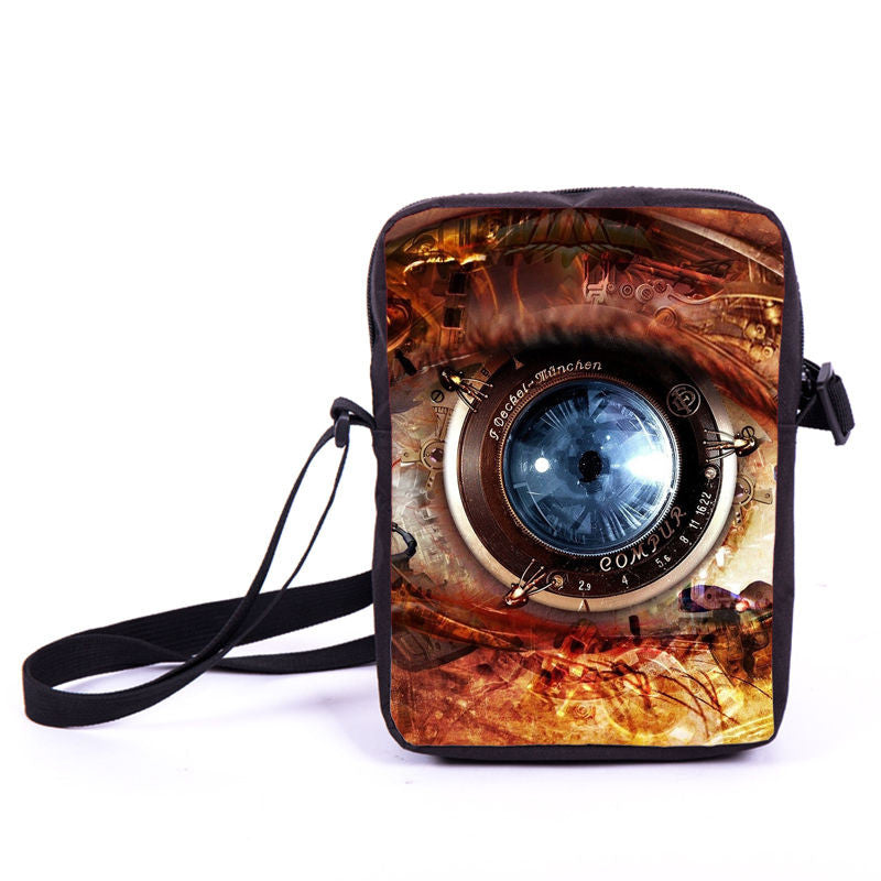 Steampunk Blue Eye Bag