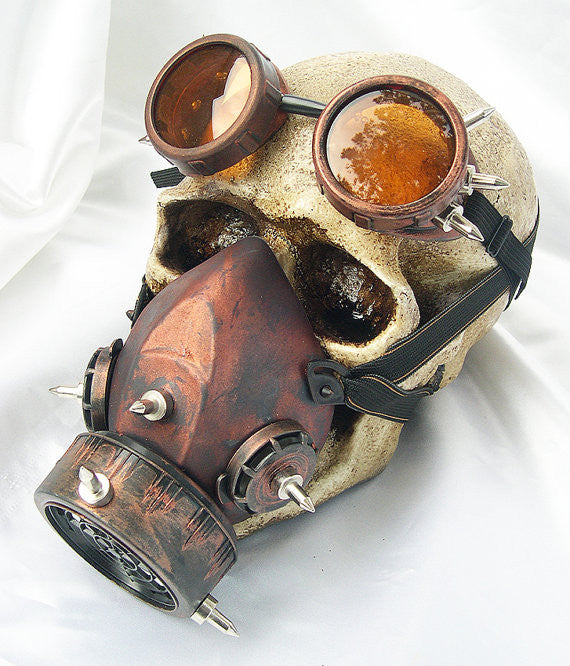 Steampunk Gas Mask Goggles