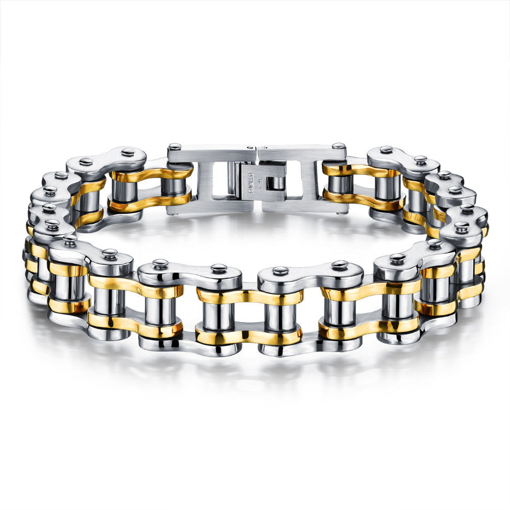 Steampunk Bracelet Casual Stainless