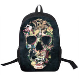 Steampunk Backpack Skull