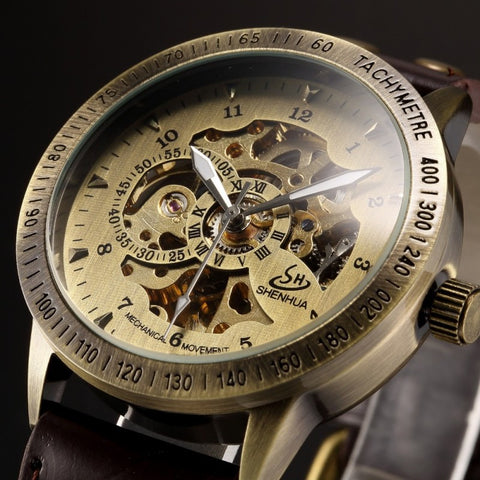 Steampunk Retro  Wristwatch