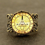 Steampunk Mysterious Ring