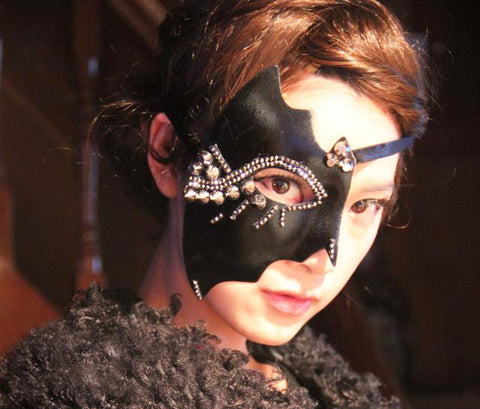 Steampunk Eye Mask Half Face