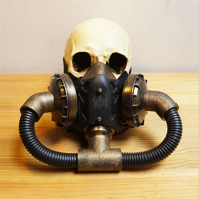 Steampunk Mask Gas Double