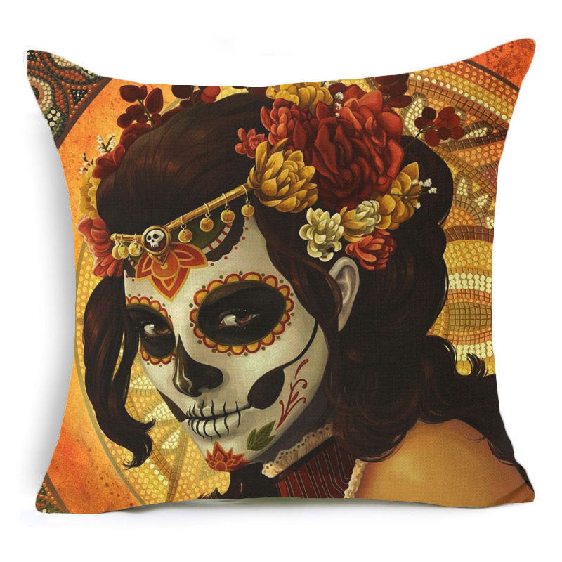 Steampunk Pillow Cushion Cover