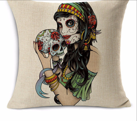 Steampunk Decorative Cushion Covers