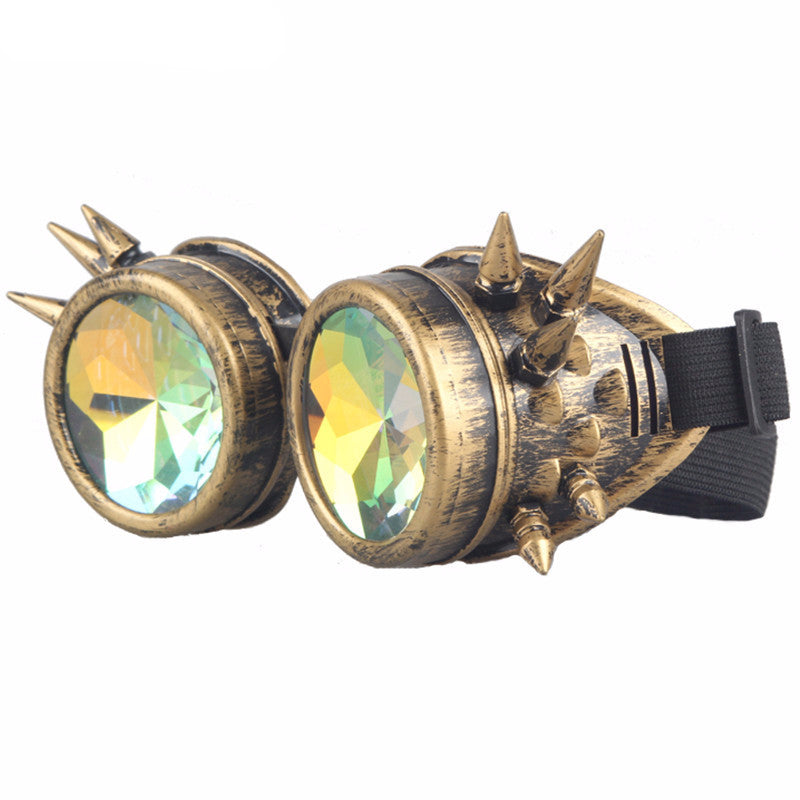 Steampunk Goggles Cosplay Glasses