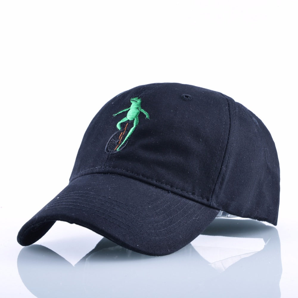 Pepe Frog On Bike Dad Hat