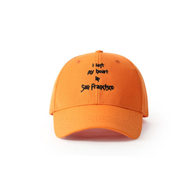 I Left My Heart In San Francisco Dad Hat