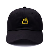 Basquiat Crown Black Dad Hat