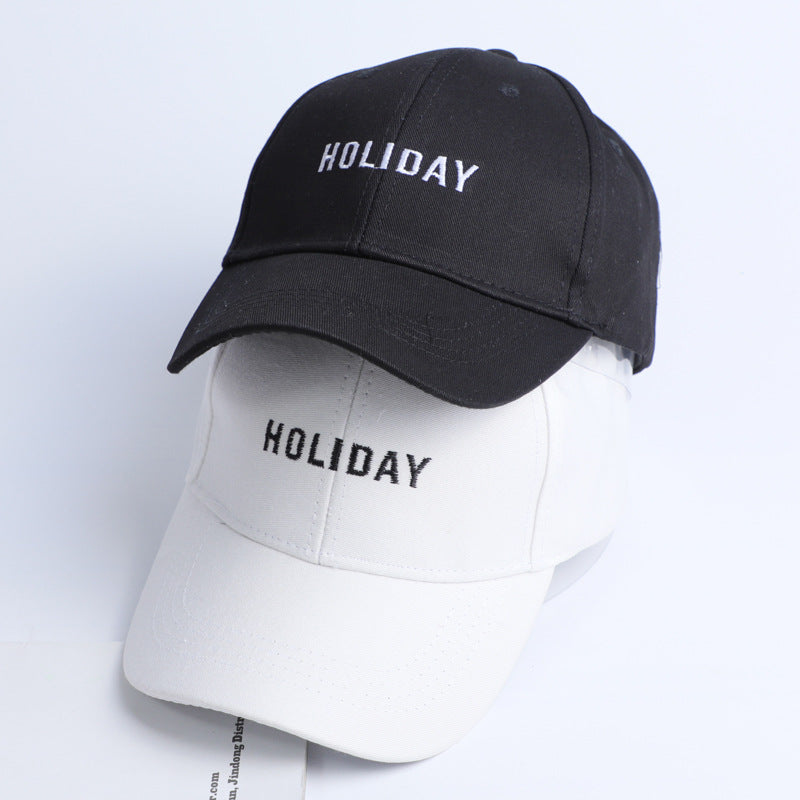 Holiday Embroidery Dad Hat