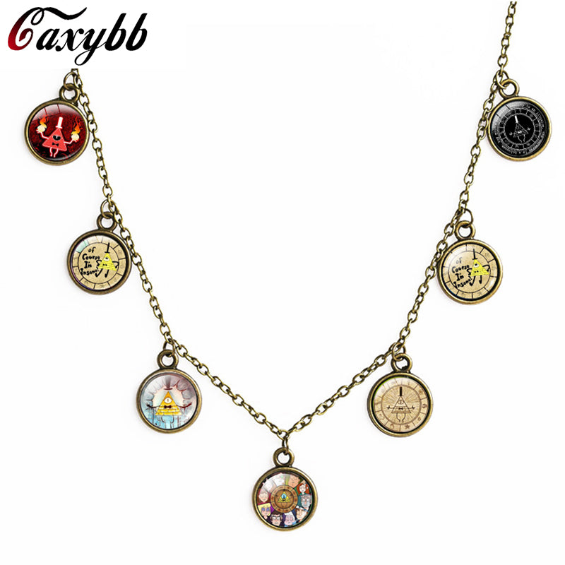 Steampunk Gravity Falls Necklace