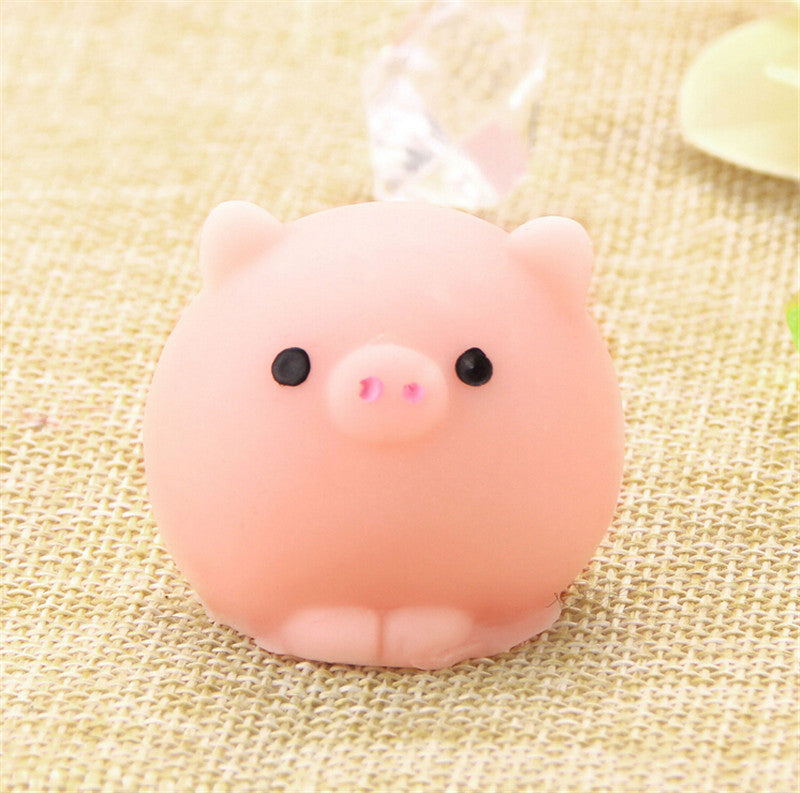 Kawaii Squishy Pig Ball Toy