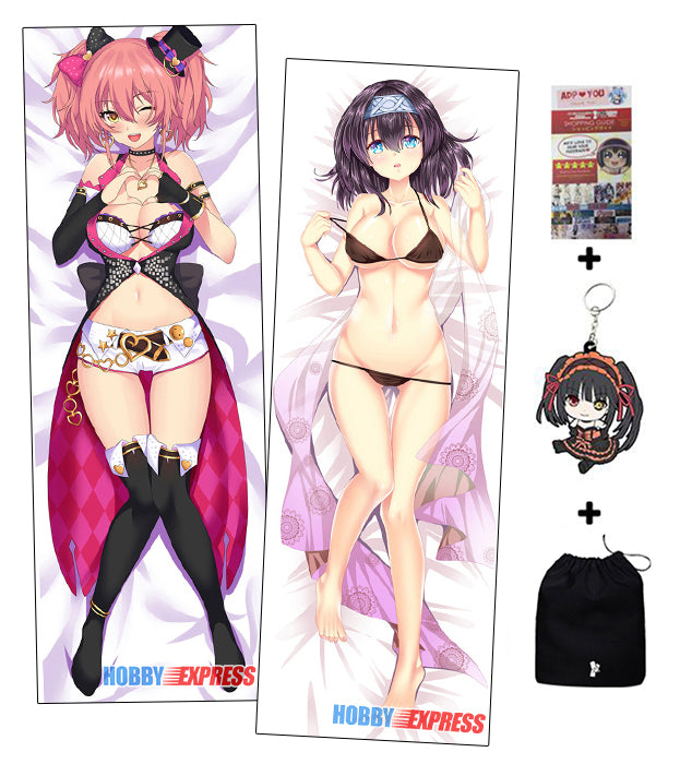 Anime Pillow Case Mika Jougasaki and Fumika Sagisawa