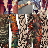 Tattoo Sleeves Temporary Fake Slip On Tattoo Arm Sleeves Kit