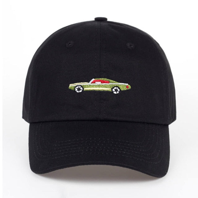 Green Cady Dad Hat