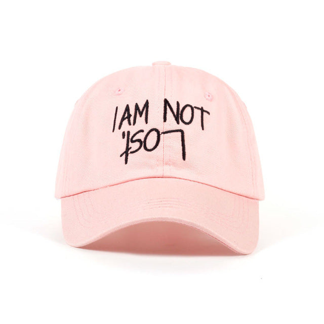 I AM NOT LOST Dad Hat