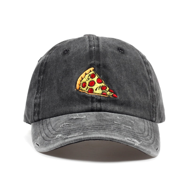 Washed Pizza Dad Hat