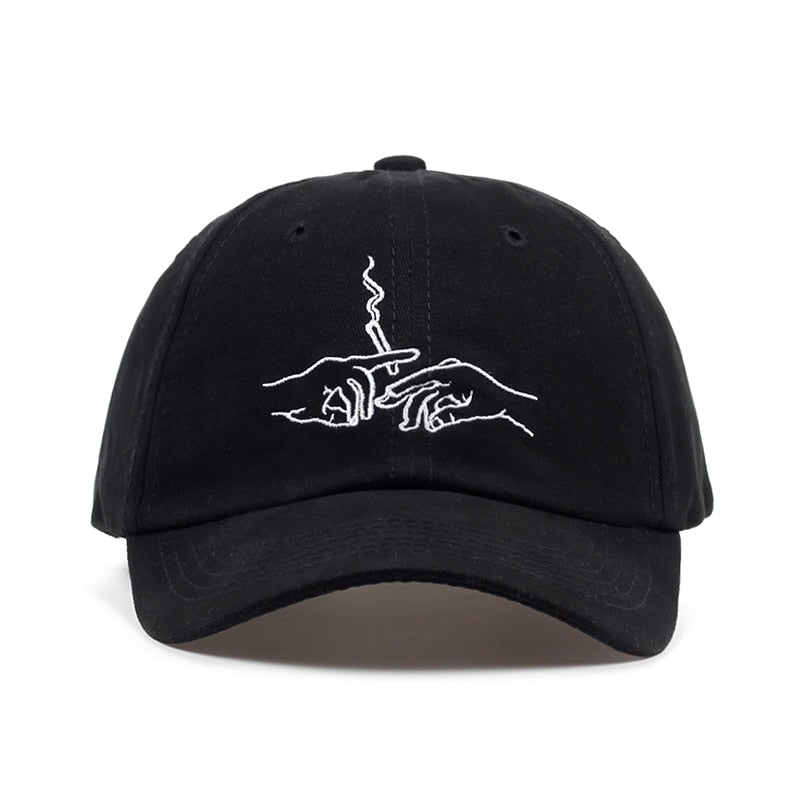 Smoking Dad Hat
