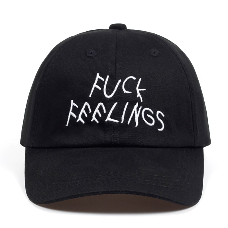 F YOUR FEELINGS Dad Hat