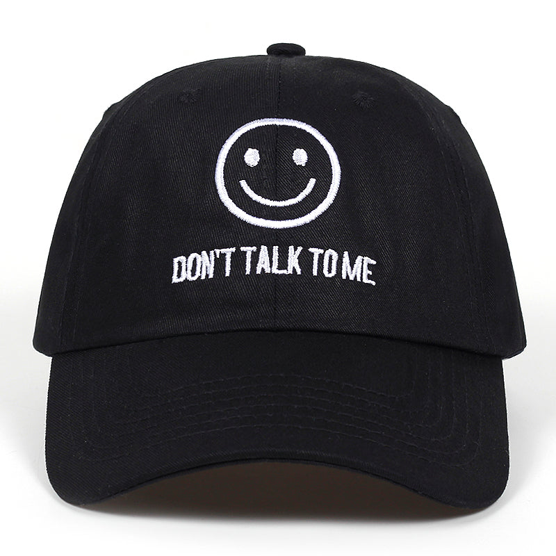 DONT TALK TO ME Dad Hat