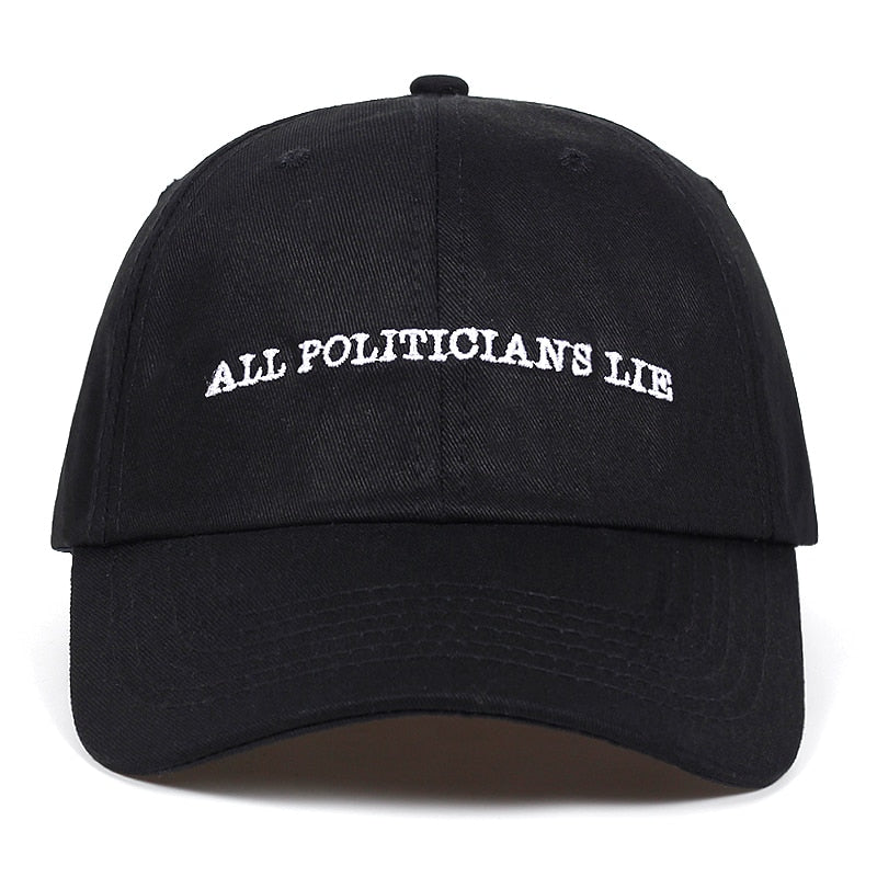 All Politicians Lie Dad Hat