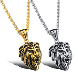 Steampunk Lion Head Necklace