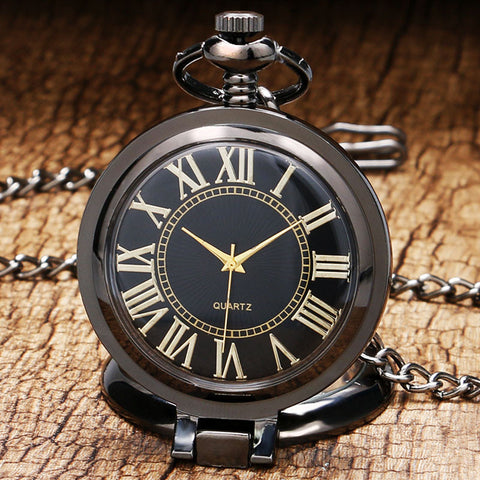 Steampunk Pocket Watch Smooth Face