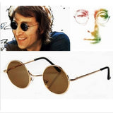 Steampunk Hippies Retro Round Sunglasses
