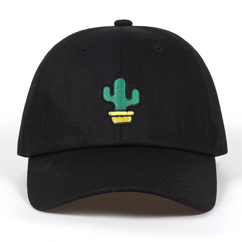 Cactus In A Pot Dad Hat